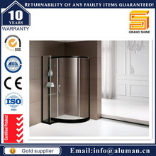 Qualified shower door glass partition for Residential Commercial Project