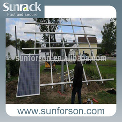 solar panel pole mounting systems for any size panel