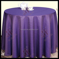 fancy wholesale table cover /factory price jacquard table cloth