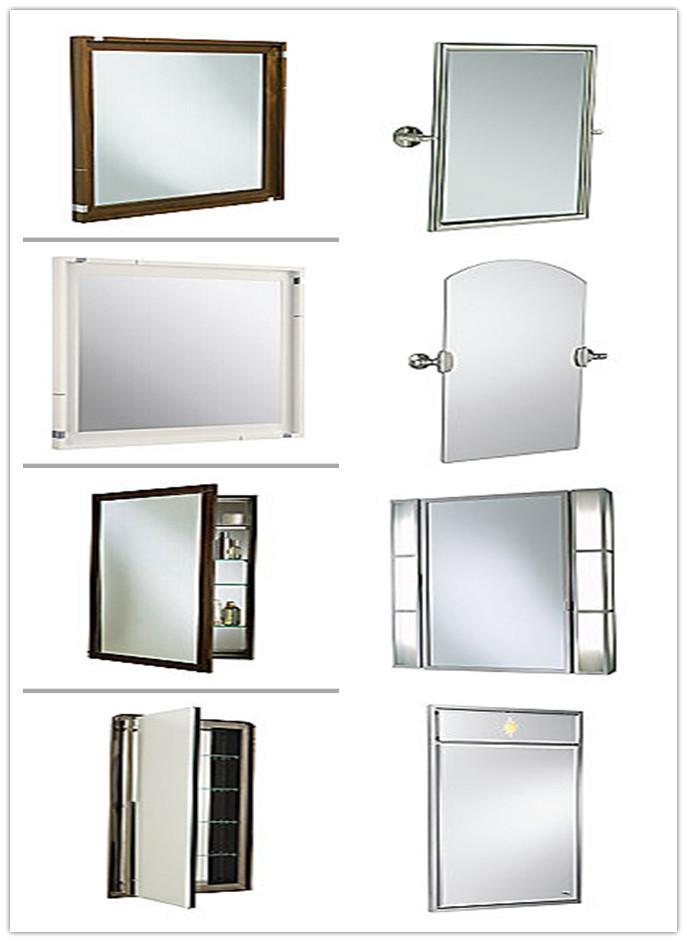 mm mm mm mm espejo de cristal sin marco de diseo de moda de bao espejo
