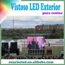 movil pantalla electronico para videos, publicidades o conciertos, P6.944 pantalla de exterior para rentar!!! outdoor rental.