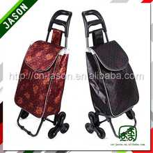 fold up luggage cart kids car shopping trolley