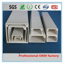 pvc network cable trunking 20*10