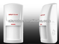 China Product ! Wolf guard Wireless/Wired human paradox motion pir motion sensor/wireless outdoor pir detector