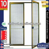Aluminium Alloy Fly Screen Door with steel mash