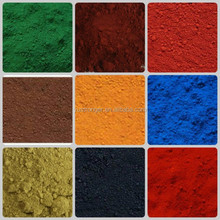 good texture,clean powder iron oxide red/yellow/black