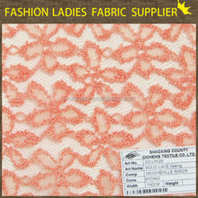 online clothing fabric store solid lace dyeing nylon/cotton/chenilly lace fabric brushed lace fabric