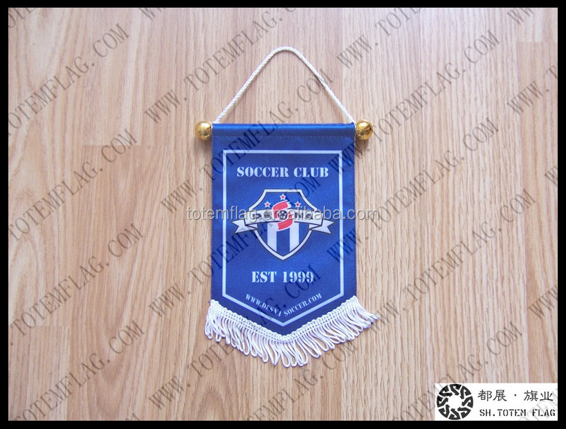Club Sports Pennant , Soccer Pennant , Football Pennant