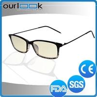 2015 China Hotsell Good Quality Fashion Anti Blue Ray Anti Radition Eyeglasses Without Nose Pads