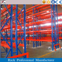 Warehouse powder coating cold storage equipment heavy weight pallet racking