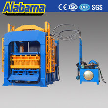 Europe makret customized hydraulic press block machine, semi automatic concrete block making machine