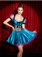 Walson Trade assurance fancy party dresses Ladies alice in wonder costume halloween fancy dress costume in sexy