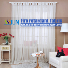 Free Sample Thin Excellent Fire Retardant Curtain/Fabric/Textile For Screen Window