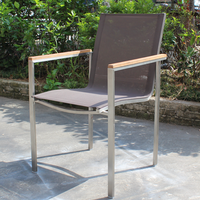 stainless steel outdoor chair mesh chair outdoor chair HS-DY931