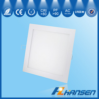 IP40 6W panel lights wholesale 3 years warranty 3000K/4000K/6000K dia100x100x12mm RA>80 100-240V AC recessed mounted wall led
