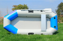 Hovercraft inflatable fishing boat low price