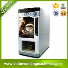 3 Hot Flavors/Beverage Automatic Mini Office Grain Vending Coffee Machine