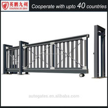 Iron folding door Main entrance security gate with remote control folding sliding