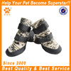 2014 JML fashionable waterproof dog online selling shoes with rubber sole