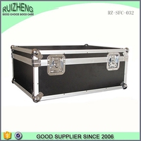Husky Black Aluminum Fireproof dj Equipment Flight case