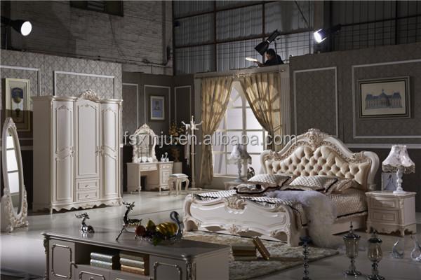 Bedroom furniture se princess style bed indonesia adult bedroom set furniture l102a for Princess style bedroom furniture