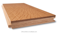 180 wide plank smooth oak engineered timber flooring