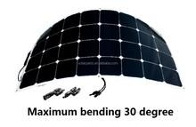 21% efficiency 100W flexiable solar panel sun power cell PV solar panel for RV