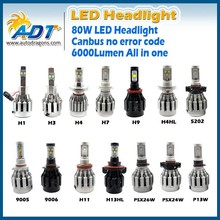 Factory direct sell automotive headlight of tuning light with H11-3000K/P13W/PSX26W/5202/PSX24W connector