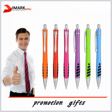 Promo colorful ball pen with printed logo for promotional