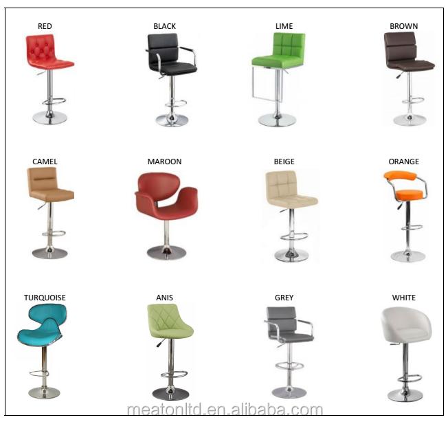 hauteur de la barre chaise et bar tabouret couleur r glable hauteur m tal chaise faux cuir. Black Bedroom Furniture Sets. Home Design Ideas