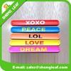 2015 New promotional reflective PVC slap bracelet