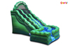 Inflatable Sea Green Rippling Waterslide on Sale/China Inflatable Water Double Lane Slide