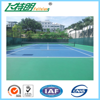 Synthetic Outdoor Professional Sport Court Flooring Material