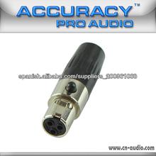 conector de audio xlr profesional XLR071