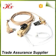 two way radio air tube silicon headset with trade assurance