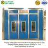Economic car spray painting booth with foam boad