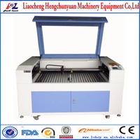 autoCAD/Coreldraw software co2 50w 60w laser engraving cutting machine FL-460