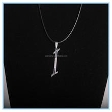 """Stainless steel charm pendant alphabet/letter """" I """" best friends pendant"""