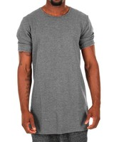 Long blank back zipper man cotton zipper sweatshirt no hood