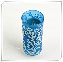 China Supplier ODM OEM Printing On the Glass Jar Candle