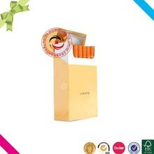 Custom pretty popular paper cigarette packaging box in China