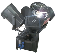 searchlight manufacturer xenon search light RGBWY colors four moving heads 4kw xenon search light