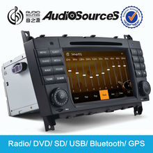 car dvd for c-class with bluetooth GPS navigation phonebook games car can bus SWC DVB-T2 RDS dual zone DVD 10disc 3G