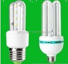 low price 3U led energy saving light bulb,e27 led corn light 4U ,smd 2835 led bulb lamp corn