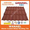 Best selling colorful stone chip coated steel roof tile factory / asphalt shingles