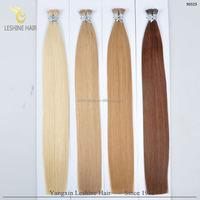 2016 New Arrival Wholesale prebonded keratin i tip hair extension