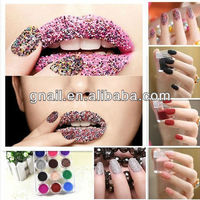 CAVIAR MANICURE MICROBEADS 3D NAIL ART GEL/NATURAL/ACRYLIC NAILS
