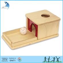 التعليمية غير-- سامة يانمارen 71 الاطفال لعبة الكرة لعبة خشبية مونتيسوري
