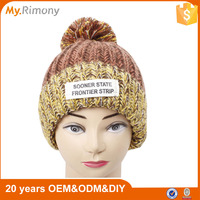 Heavy knit and crochet winter hot sale unisex knitted hat and cap