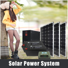 1KW 2KW home solar power system pv solar panel price 250W 36V